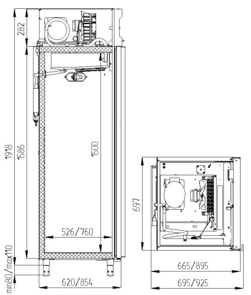 Креслення Polair CV 107-G