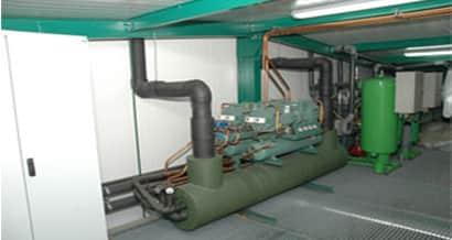 Холодильні камери з регулюванням газового середовища