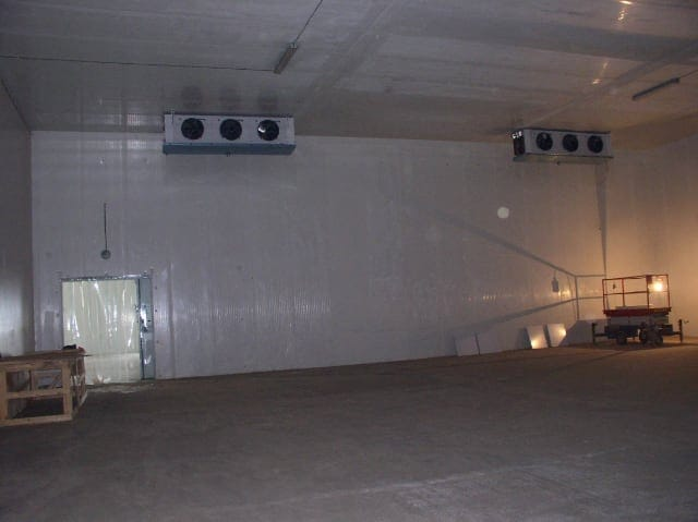 Овощная холодильная камера от Компании Холод