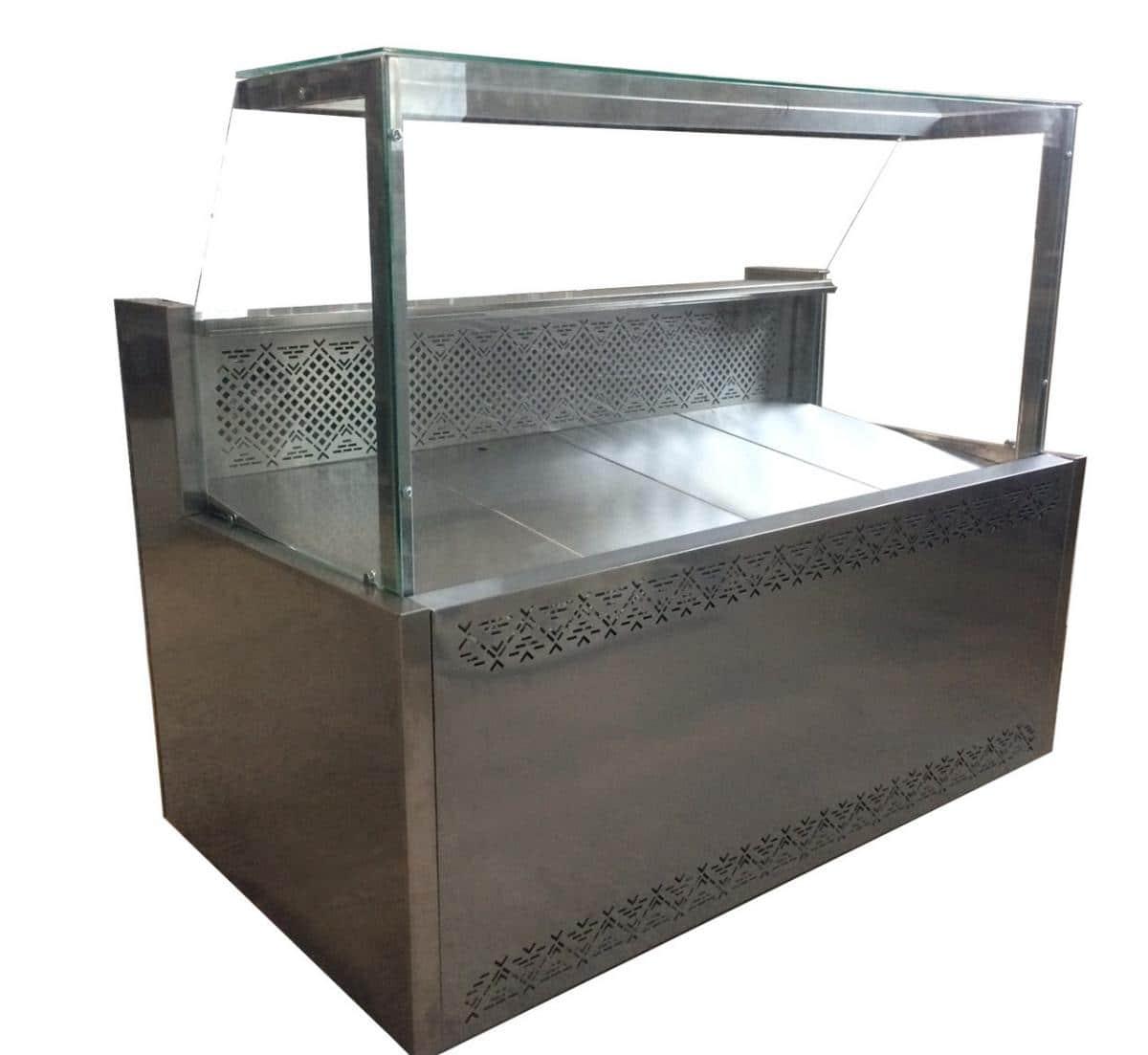 Среднетемпературные холодильные витрины КУБ