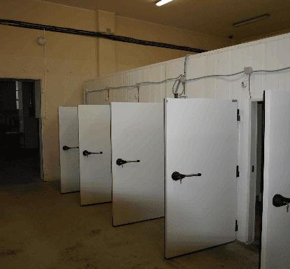 Монтаж холодильной камеры