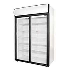 Холодильные шкафы cо стеклянными дверьми Polair