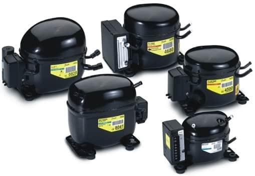 Чёрные компрессора Danfoss