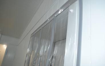 Магнітні ПВХ штори для холодильних камер
